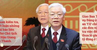 Những chỉ đạo quyết liệt của Tổng Bí thư trong vụ Trịnh Xuân Thanh