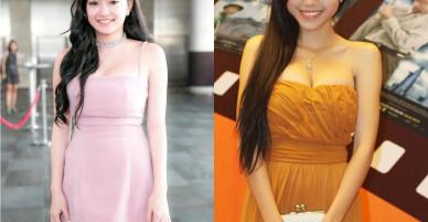 Xem mặt hai mỹ nhân Việt có vòng 1 ngoại cỡ nóng nhất showbiz Việt