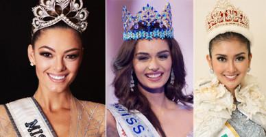 Những nữ hoàng nhan sắc năm 2017