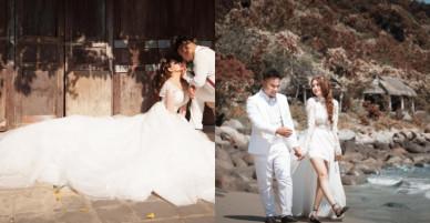 Ảnh cưới lầy lội, 'hôn bất chấp' của cặp đôi Vinh Râu – Lương Minh Trang