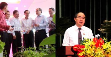 Bí thư Nguyễn Thiện Nhân: Nền nông nghiệp TP.HCM còn gặp rủi ro cao