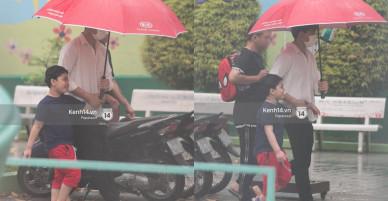 Độc quyền: Im lặng giữa tâm bão scandal, Trương Quỳnh Anh ở nhà chờ Tim đón con trai đi học về