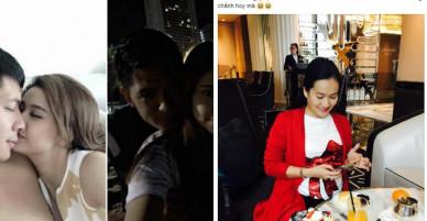 Phản ứng của vợ Bình Minh sau ồn ào rò rỉ ảnh 'nhạy cảm' giữa chồng và Trương Quỳnh Anh?
