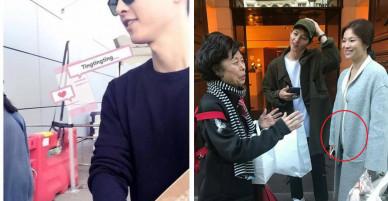 Song Joong Ki bị bắt gặp mua sách chăm con, củng cố tin đồn Song Hye Kyo đang mang thai