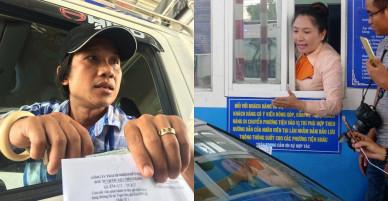 """Trạm BOT Cai Lậy: Ngày thứ 4 thu phí, nhiều tài xế """"tung chiêu"""" hết tiền mua vé"""