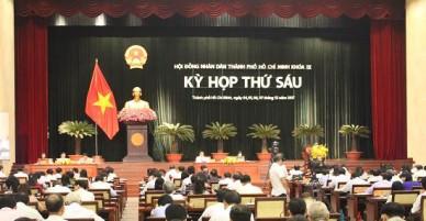 Vấn đề dân sinh làm nóng nghị trường HĐND TP Hồ Chí Minh