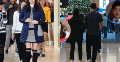 Bầu 8 tháng, Jeon Ji Hyun vẫn cùng chồng sang Hong Kong du lịch