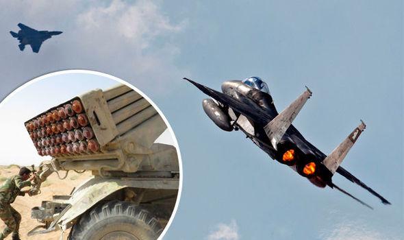 Israel bắn loạt tên lửa tấn công quân đội Syria, chảo lửa Trung Đông nóng rẫy