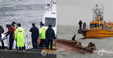 Lật tàu cá ở Hàn Quốc nhiều người thiệt mạng