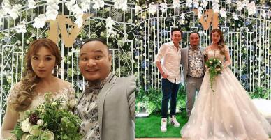 Trấn Thành, Cát Phượng và dàn sao Việt rạng rỡ đến dự đám cưới của diễn viên Vinh Râu