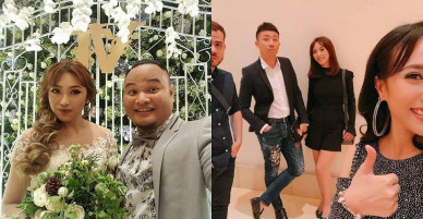 """Clip: Màn hát live """"đỉnh cao"""" của Thu Trang và Diệu Nhi trong đám cưới khiến toàn bộ khách mời bật ngửa"""