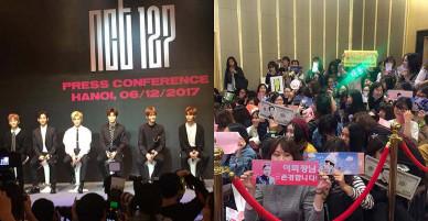 Fan thích thú với màn chào hỏi dễ thương của nhóm nhạc NCT 127