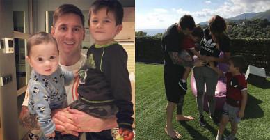 Messi gọi con trai là 'con hoang'