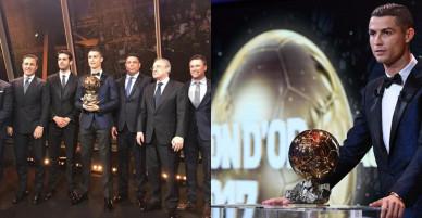 Ronaldo giơ 5 ngón tay ăn mừng, nhận quà Giáng Sinh sớm