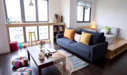 Chủ nhà Hà Nội sửa căn hộ 45 m2 hết 100 triệu