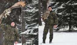 Đội cảnh vệ biết bay lượn canh gác dinh Tổng thống Nga