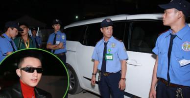 Sơn Tùng M-TP được bảo vệ nghiêm ngặt khi chạy show