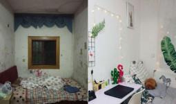 Nữ chủ nhân biến căn phòng thuê ẩm mốc thành nơi đáng sống