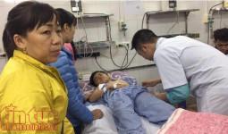 Nhiều nạn nhân vụ sập lan can trường tiểu học Văn Môn đều đang mê man