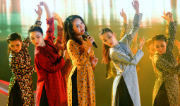 Phương Linh hiếm hoi trở lại sân khấu