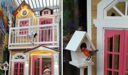 Bố mẹ Sài Gòn tự đóng nhà đồ chơi cao gần 3 mét tặng con gái