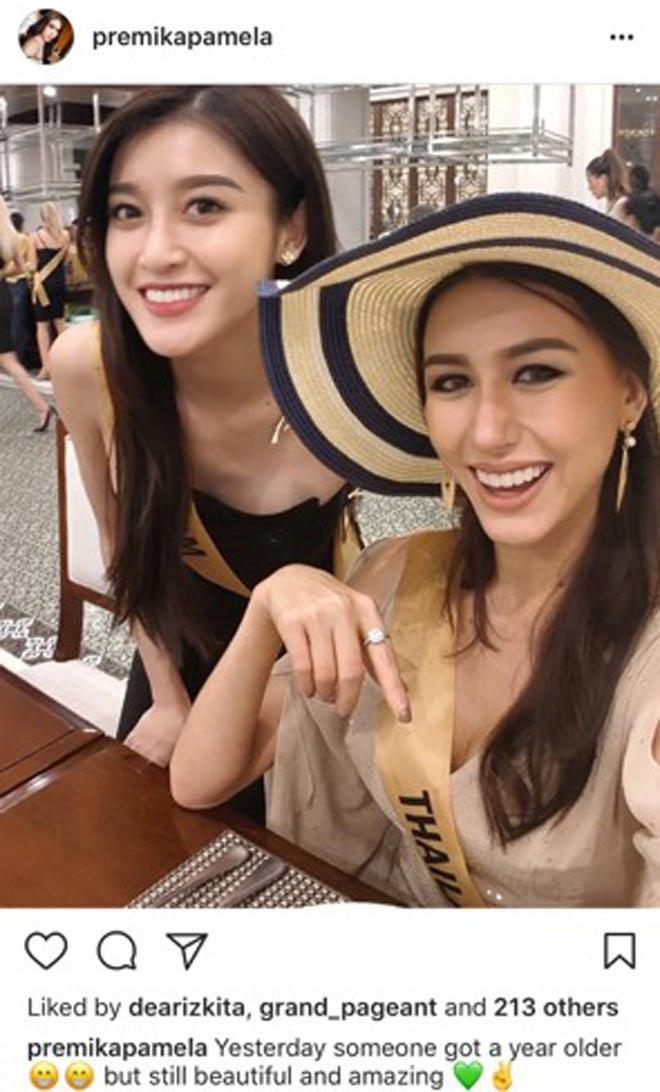 Bị chê kém hòa đồng, Huyền My vẫn nhận mưa lời chúc từ các hoa hậu