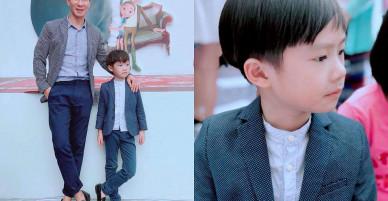 Không ngờ con trai đầu nhà Lý Hải – Minh Hà đã lớn và đẹp trai thế này!