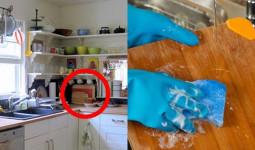 Kinh ngạc trước thứ vật dụng quen thuộc trong nhà bếp chứa vi khuẩn nhiều gấp 200 lần bồn cầu