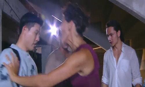 * Lukkade quyết liệt khi tát thí sinh ở The Face Men Thailand