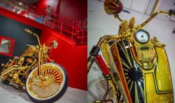 """Ngắm """"núi vàng di động"""" Harley Davidson Custom"""