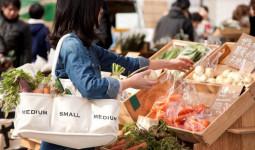 Hết thời túi cám con cò, bạn biết đang hot nhất thị trường thời trang Nhật là gì không? Xin thưa: túi mua rau!