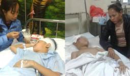 Vụ sập lan can trường học làm 13 học sinh bị thương: Thêm 1 nạn nhân phải phẫu thuật não