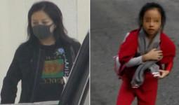 Triệu Vy cùng con gái tới trường giữa ồn ào kinh doanh gian lận