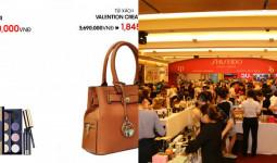 300 thương hiệu mỹ phẩm, thời trang giảm giá tại 4 thành phố lớn