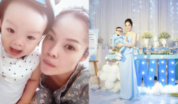 """Dương Cẩm Lynh buồn bã chia sẻ: """"Cũng may còn có con, để mẹ bớt mệt mỏi với sự đời"""""""