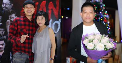 Vợ chồng Kiều Minh Tuấn – Cát Phượng sánh đôi tới ủng hộ Việt Hương
