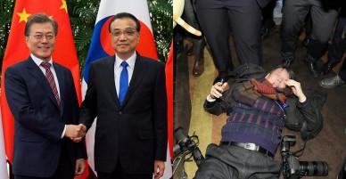 Hàn Quốc sôi sục vụ an ninh Trung Quốc đánh trọng thương phóng viên