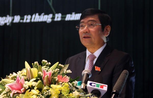 Kỷ luật cảnh cáo nguyên Chủ tịch tỉnh Vĩnh Phúc