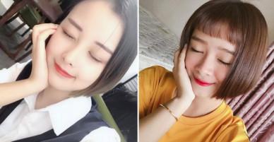 Cắt tóc ngắn để che mặt tròn, cô bạn Sài Gòn không ngờ trông giống hệt Đóa Nhi!