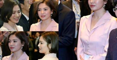 """Song Hye Kyo vừa vắng nhà, Song Joong Ki đã chụp hình mặt """"buồn rười rượi"""" vì nhớ vợ"""