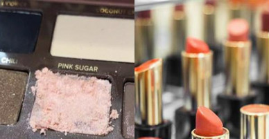 Cảnh báo: Mua son phấn ở cửa hàng mỹ phẩm cẩn thận mắc bệnh truyền nhiễm gây lở miệng đau mắt