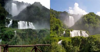 Choáng ngợp vẻ đẹp hùng vĩ của thác nước nhân tạo cao nhất thế giới