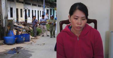 Vụ chặt đầu bỏ thùng rác: Nghi phạm khai bị chồng chém và dọa giết