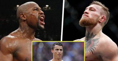 """VĐV """"điên đảo"""" thế giới ảo: Ronaldo, Mayweather """"xách dép"""" McGregor"""