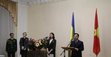 Kỷ niệm 73 năm Ngày thành lập Quân đội Nhân dân Việt Nam tại Ukraine