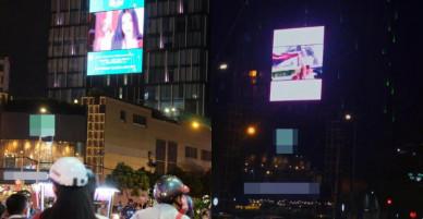 Sau Chi Pu, Minh Hằng được fan mua tặng banner ở vị trí đắt đỏ nhất Sài Gòn
