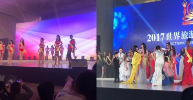 Á hậu Diệu Thùy xuất sắc mang về 2 giải thưởng tại cuộc thi Nữ hoàng Du lịch Quốc tế 2017