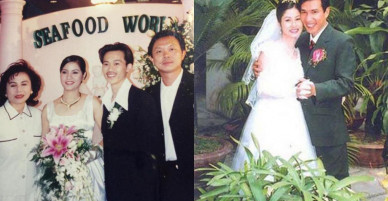 """Thú vị khi xem lại loạt ảnh cưới """"xưa lắc xưa lơ"""" của sao Việt"""