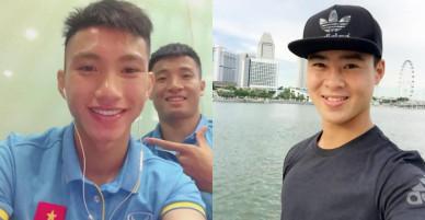 Quế Ngọc Hải, Công Phượng và đội hình 'hot boy' của bóng đá Việt ồn ào nhất năm 2017