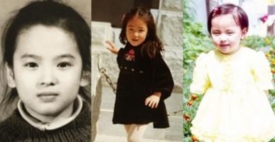 11 diễn viên Hàn xinh đẹp từ tấm bé